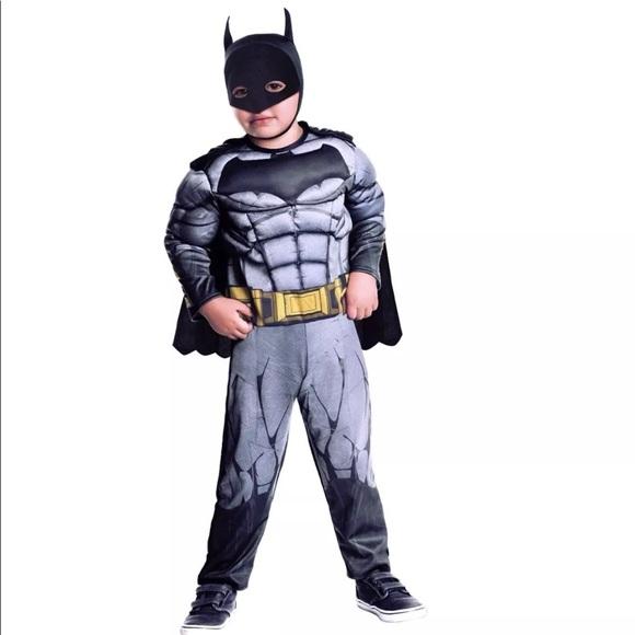 M_5b98634bdf03075ff310cef2  sc 1 st  Poshmark & Rubieu0027s Costumes | Toddler Justice League Batman Deluxe Costume ...